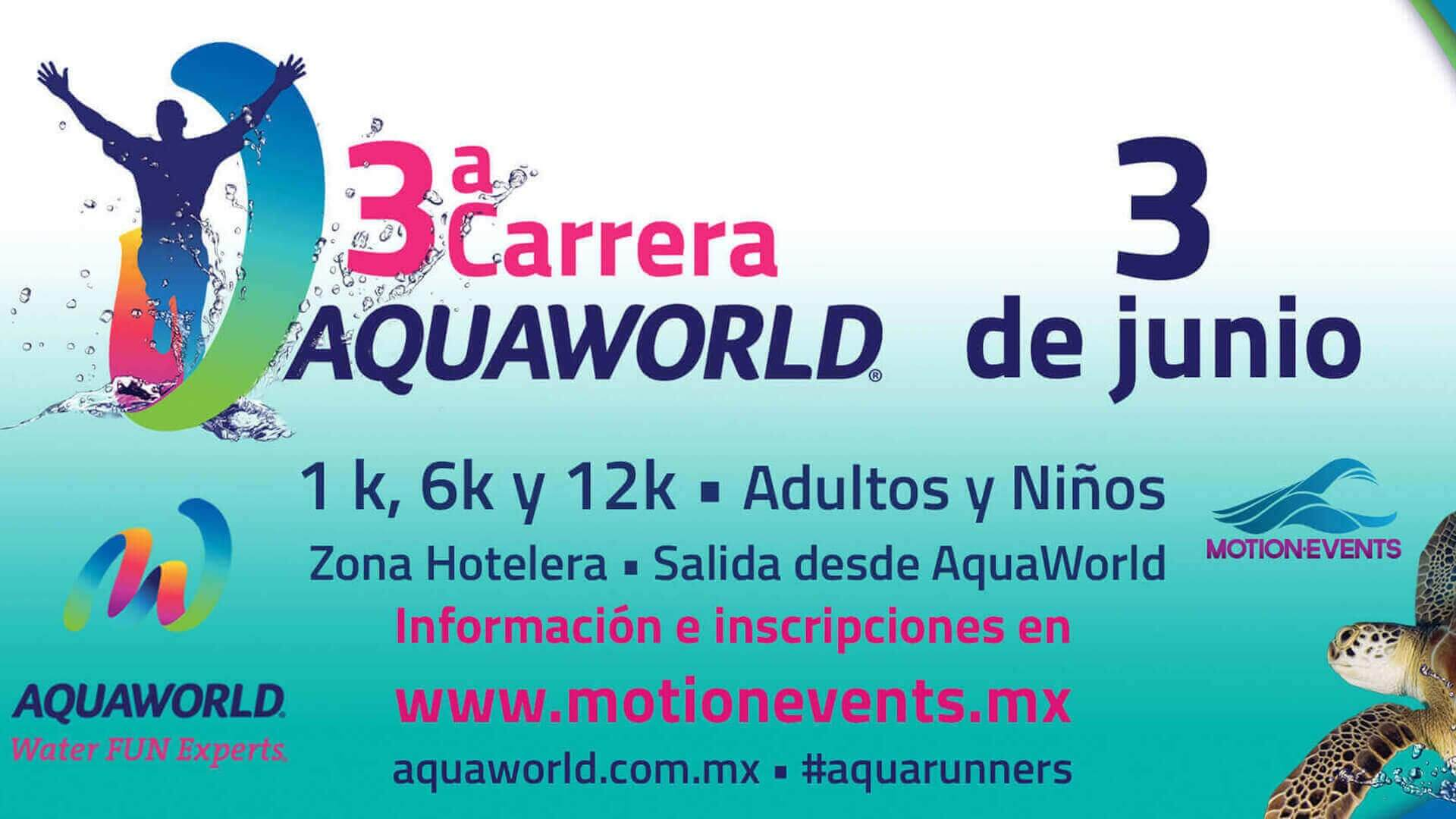 3ra Carrera Aquaworld Zona Hotelera