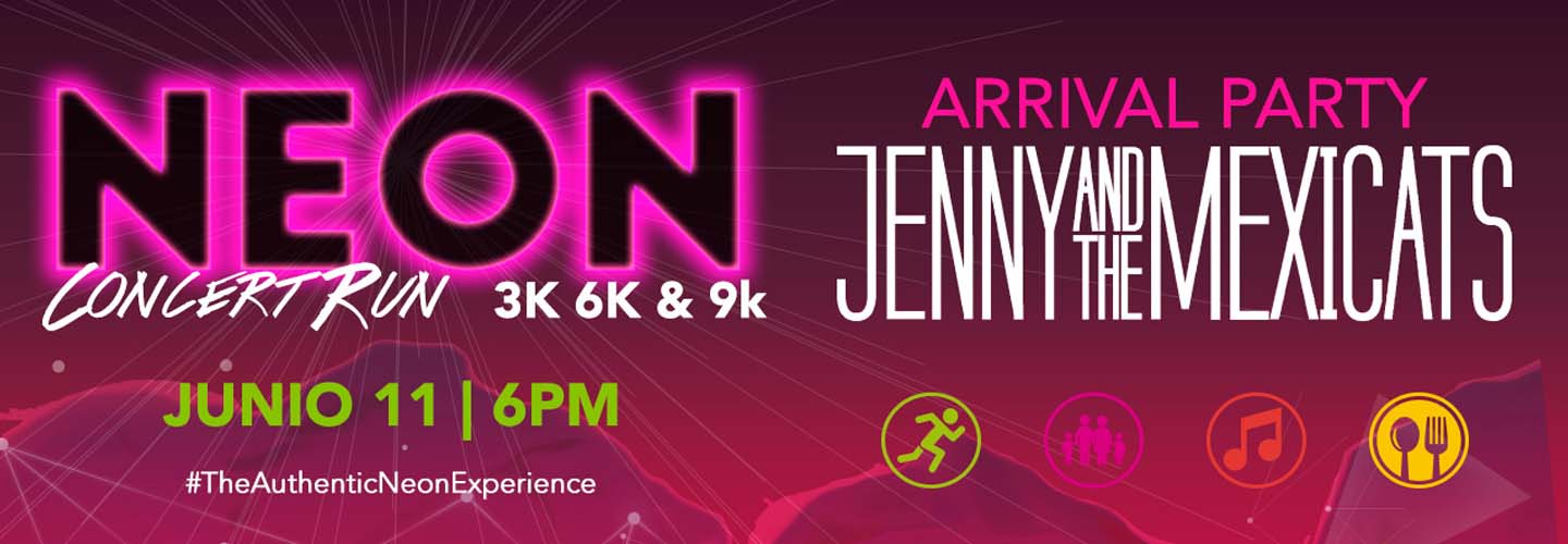 Carrera Neon Concert Run