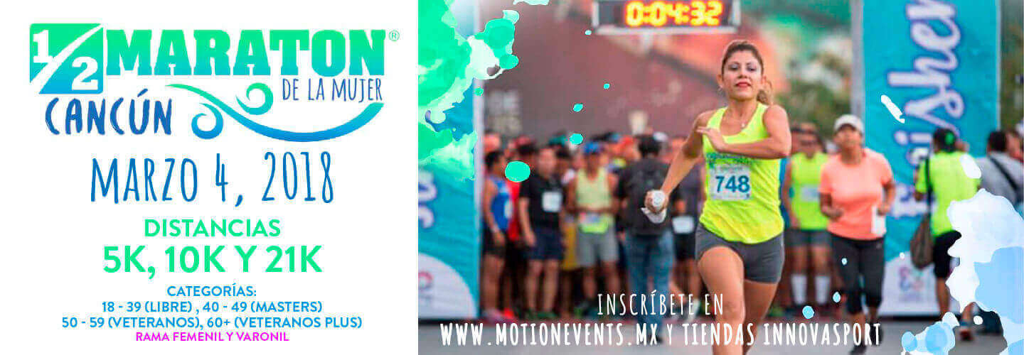 Motion Events Maraton Cancun 2018