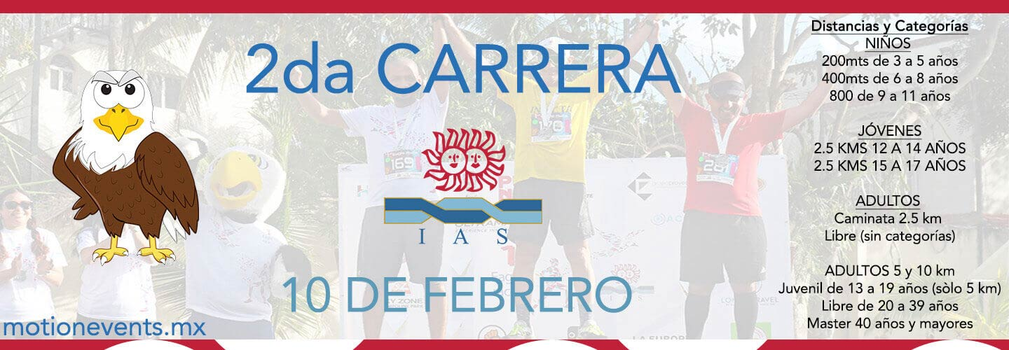 2da Carrera Ias Motion Events Cancun