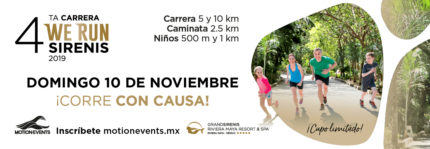 Cuarta Carrera We Run Sirenis 2019