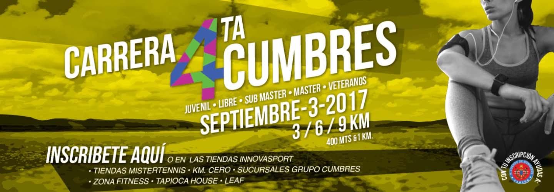 Cuarta Carrera Cumbre 2017