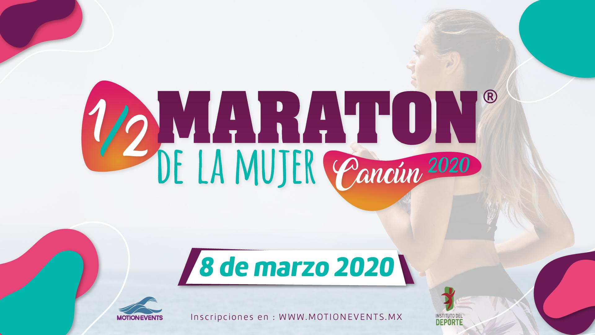 Medio Maraton Para La Mujer En Cancun 2020