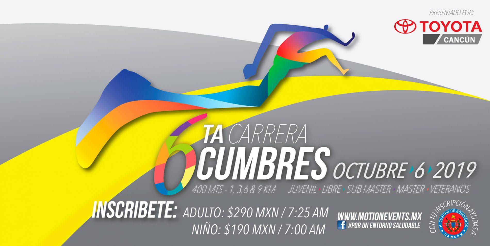 6ta Carrera Cumbres En Cancun