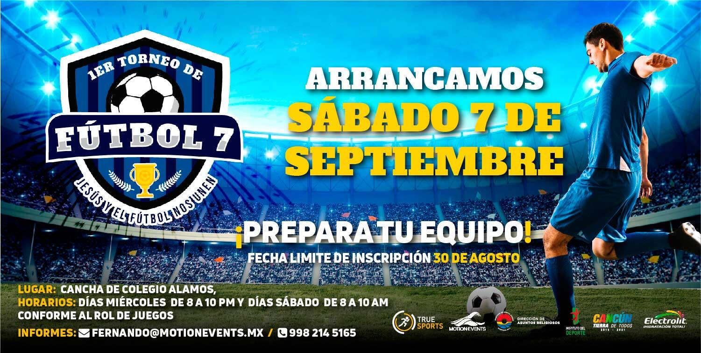 Primer Torneo De Futbol 7 Del 2019 Nos Une