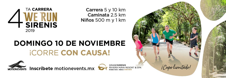Cuarta Carrera We Run Sirenis 2019