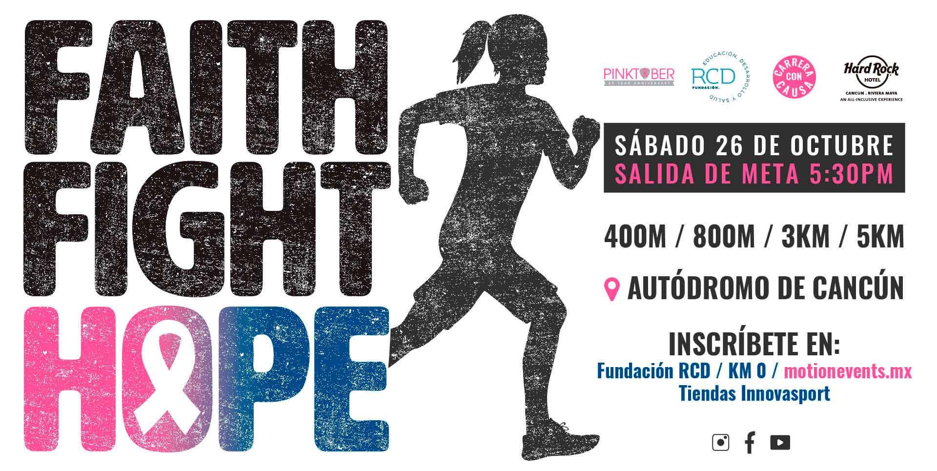 Carrera Motion Events Hardrock Faith Fight Hope