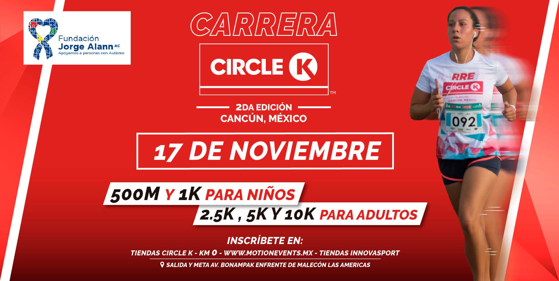 Segunda Carrera Cicle K En Cancun Mexico