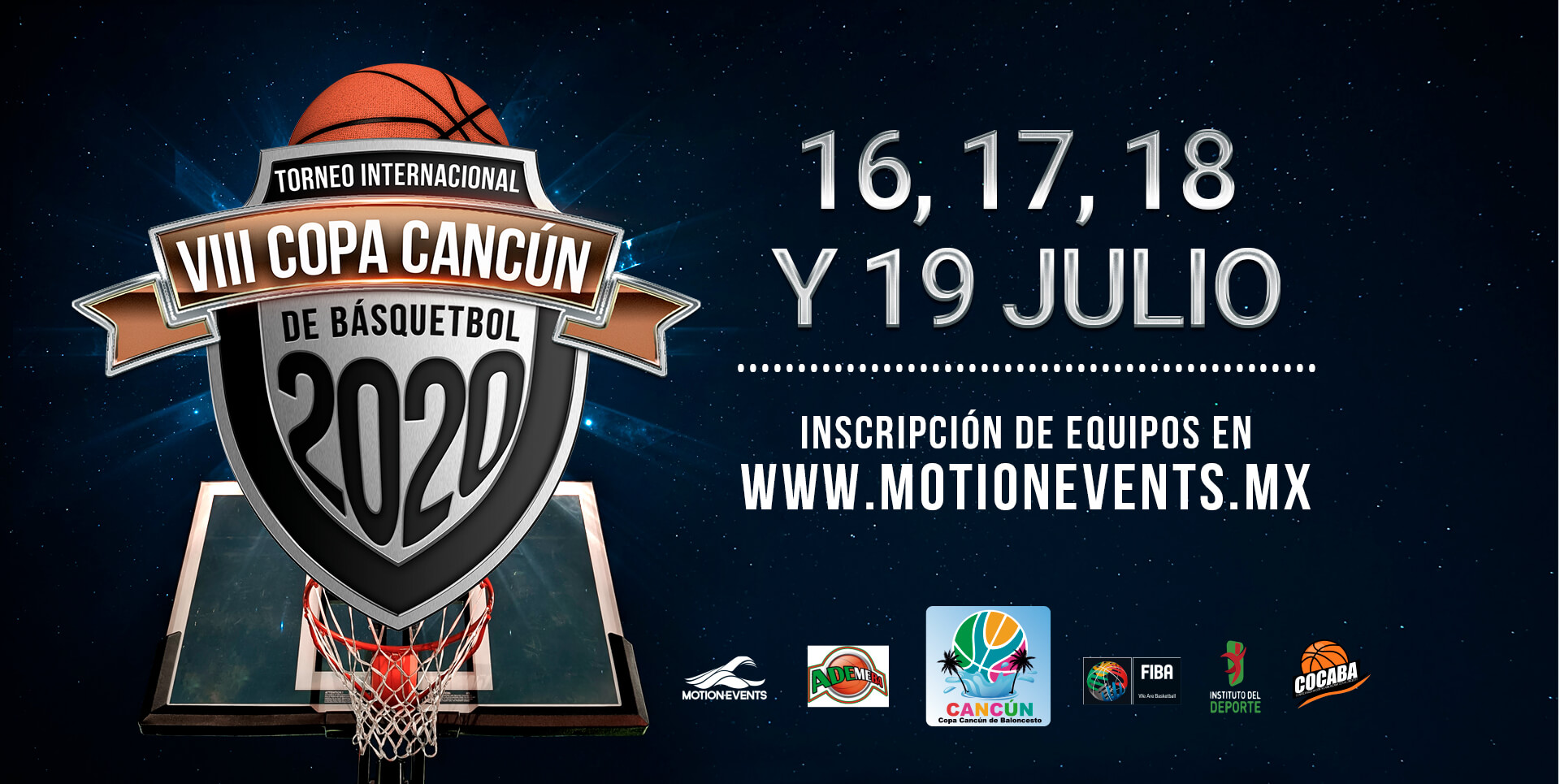 Inscripcion Copa Cancun Viii